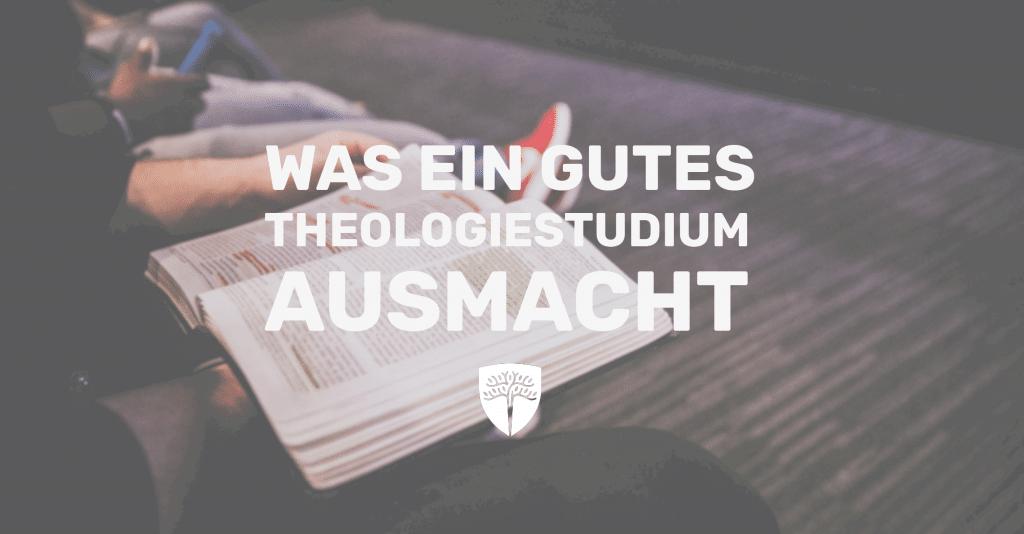 Theologiestudium an der THS.Deutschland