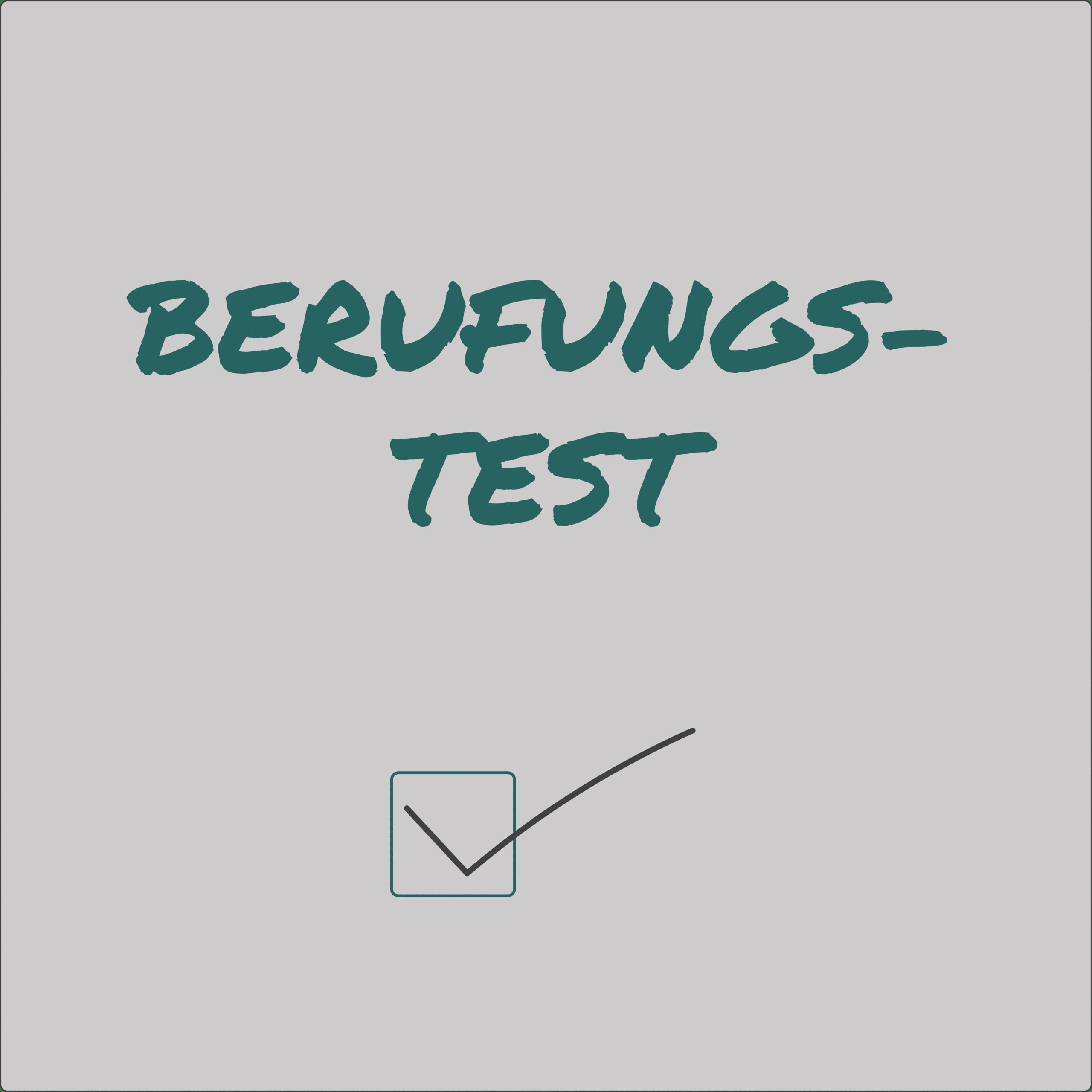 TEST FÜR DEINE BERUFUNG